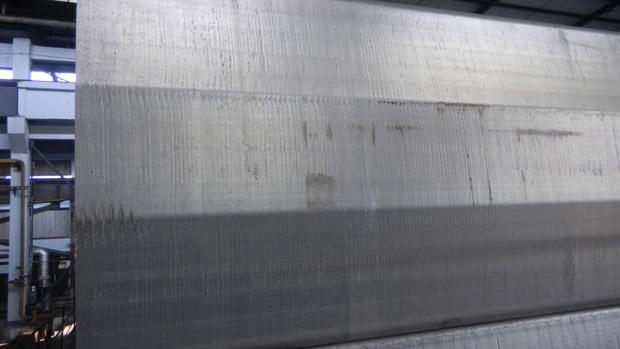 扁锭结晶器生产成品